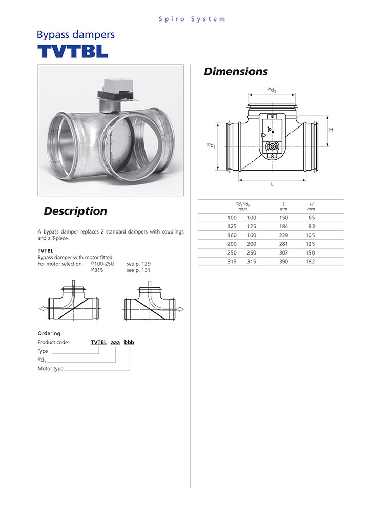 Bypass dampers1