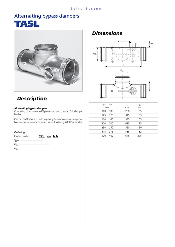 Bypass dampers3
